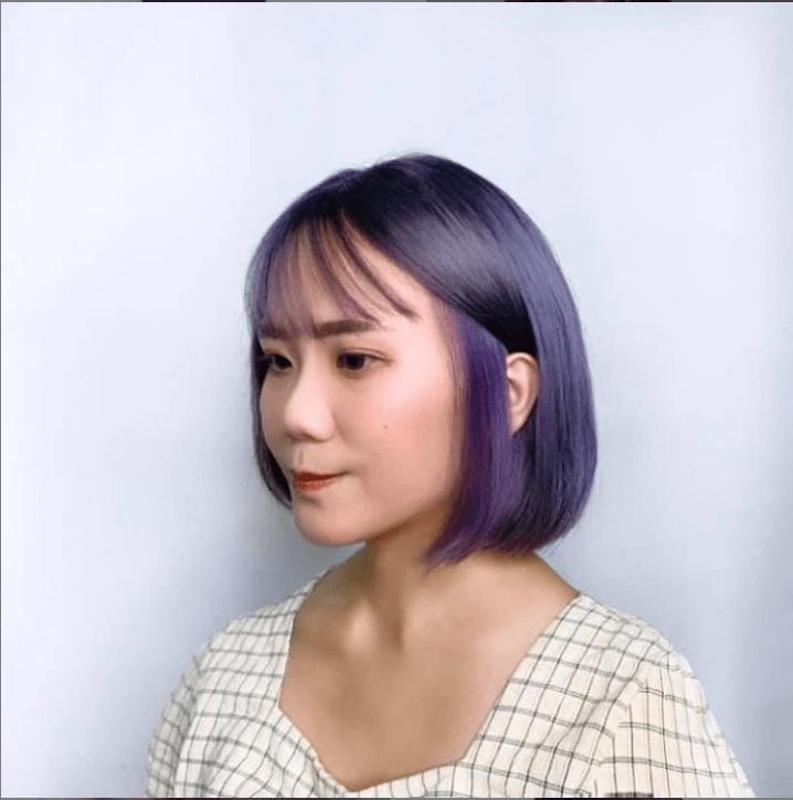 捲燙染髮-耳圈染1