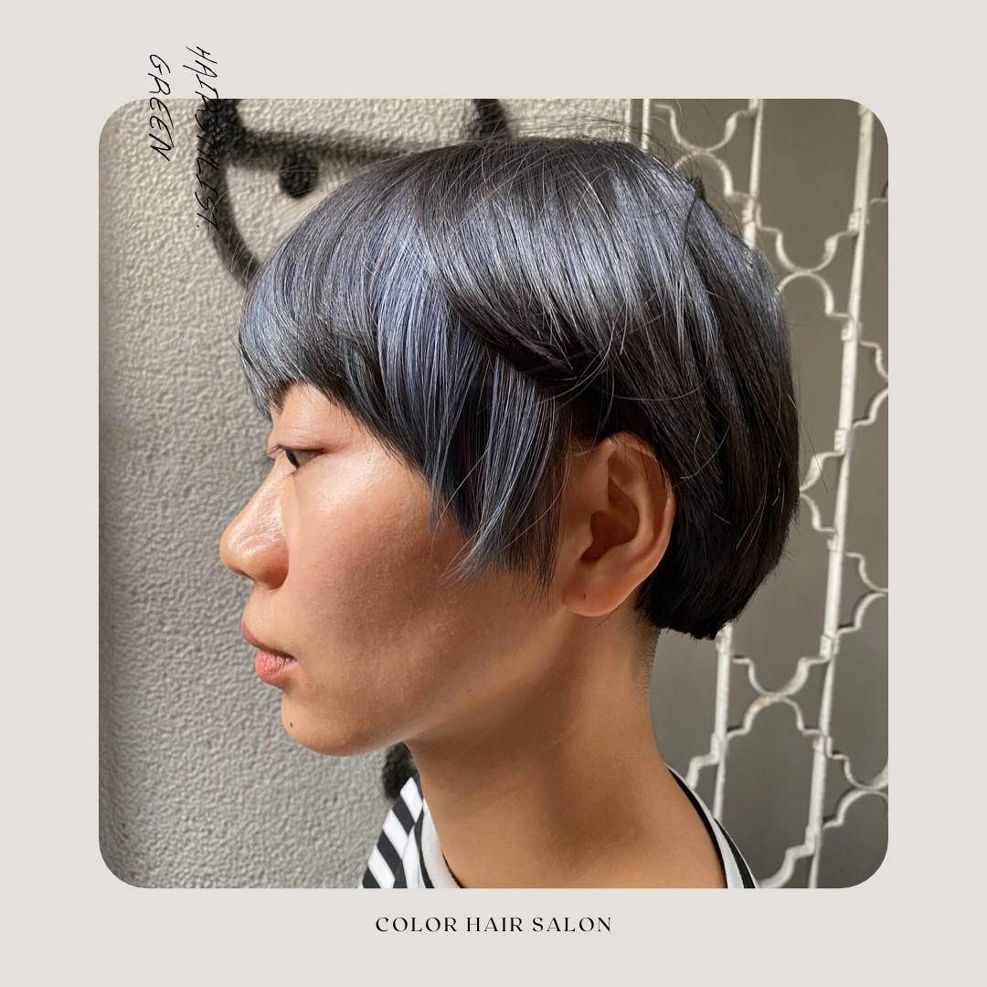 耳圈染-藝術氣息的設計系女孩-COLOR
