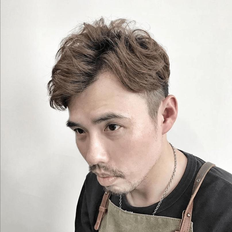 男士剪髮-1990樂團跟風流行