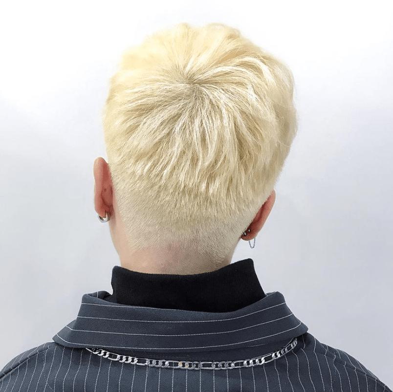 男士剪髮-2020漂白時尚造型