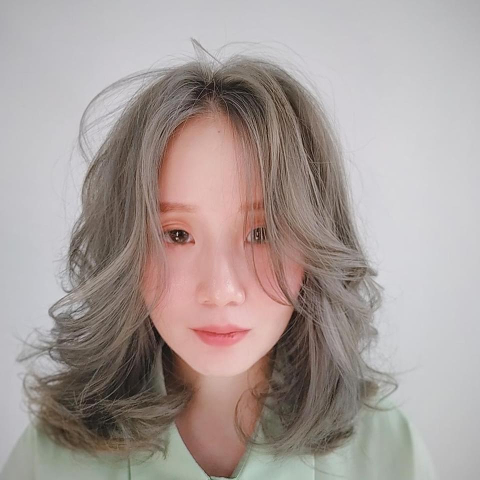 中長髮燙髮-perm