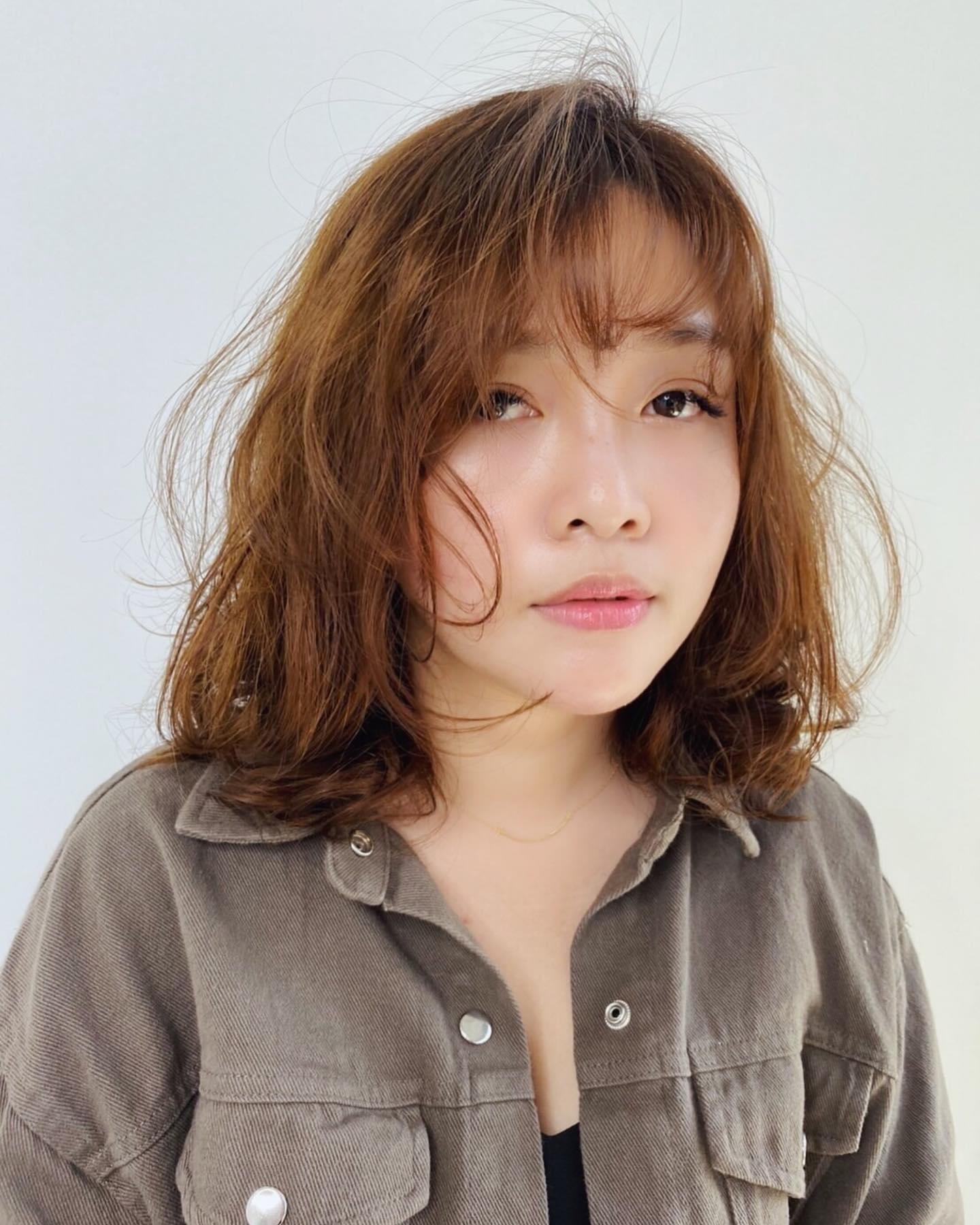 中長髮燙髮10-perm
