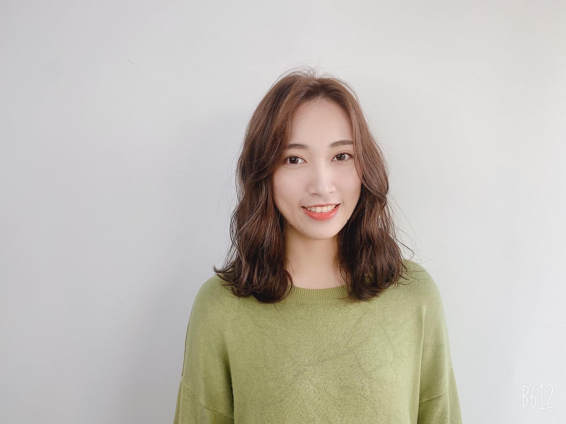 中長髮燙髮11-perm