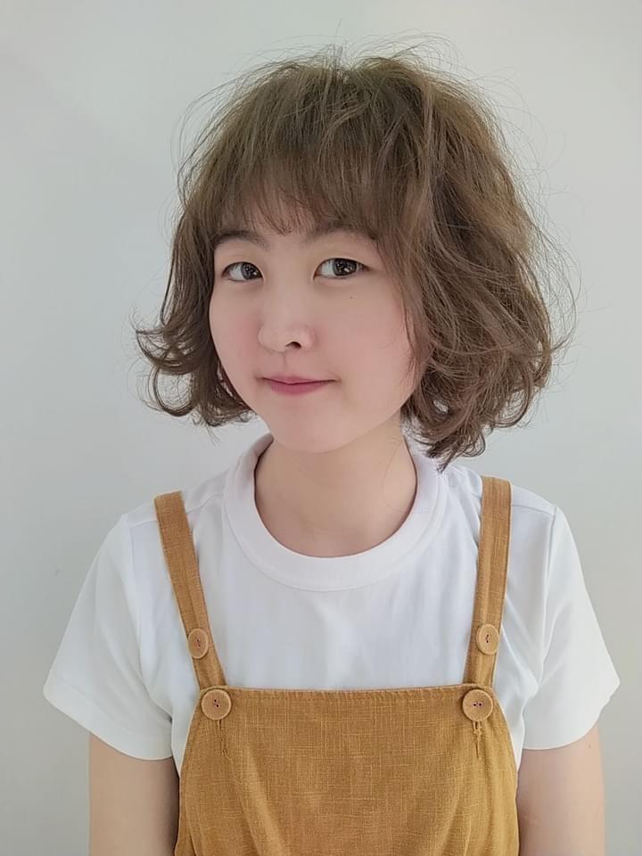 中長髮燙髮2-perm