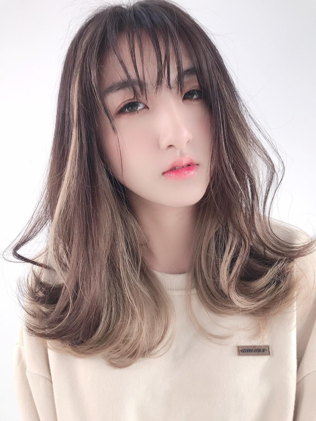 中長髮燙髮5-perm