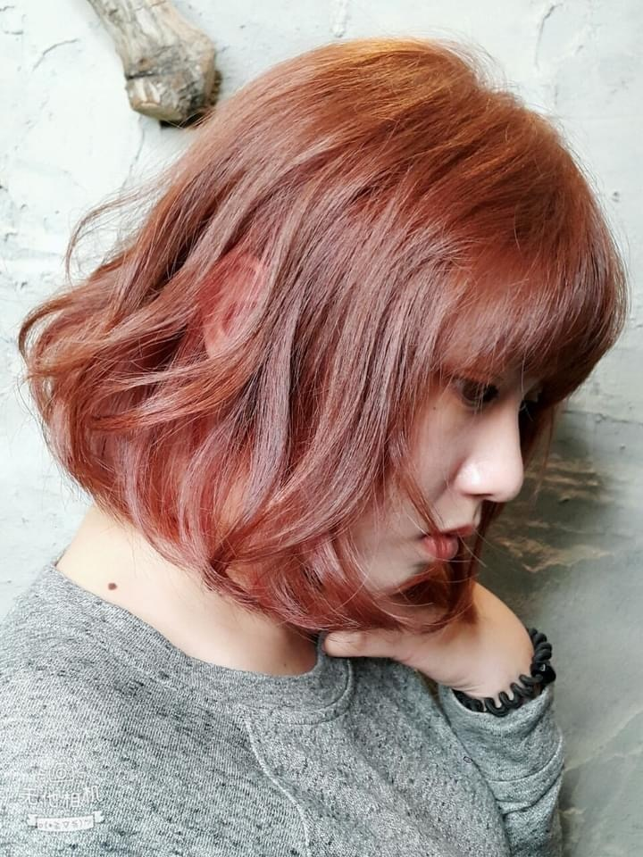 中長髮燙髮9-perm