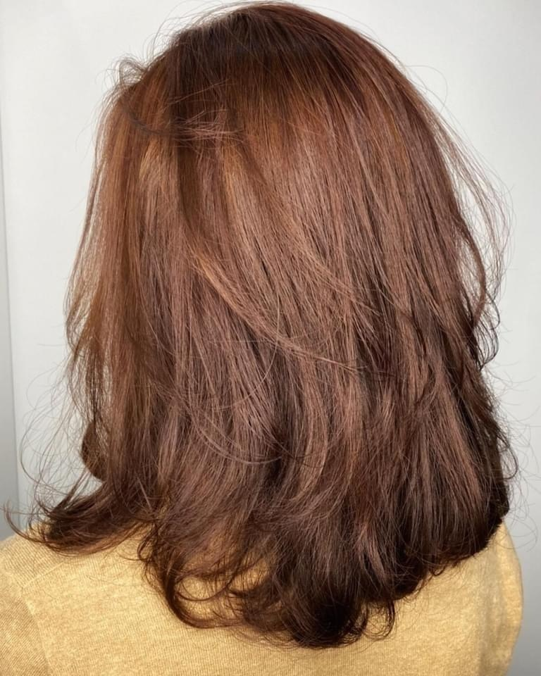 燙髮尾優點5-長、中長及短髮都能燙髮尾,各有獨特的視覺效果