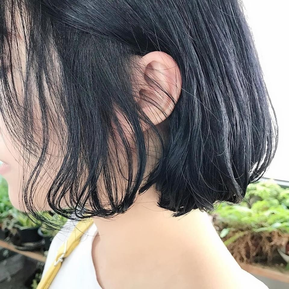 2021燙髮尾-清純無害小清新內彎燙