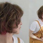 短髮捲髮-內外捲短鮑伯-韓系小姐姐風|台中COLOR