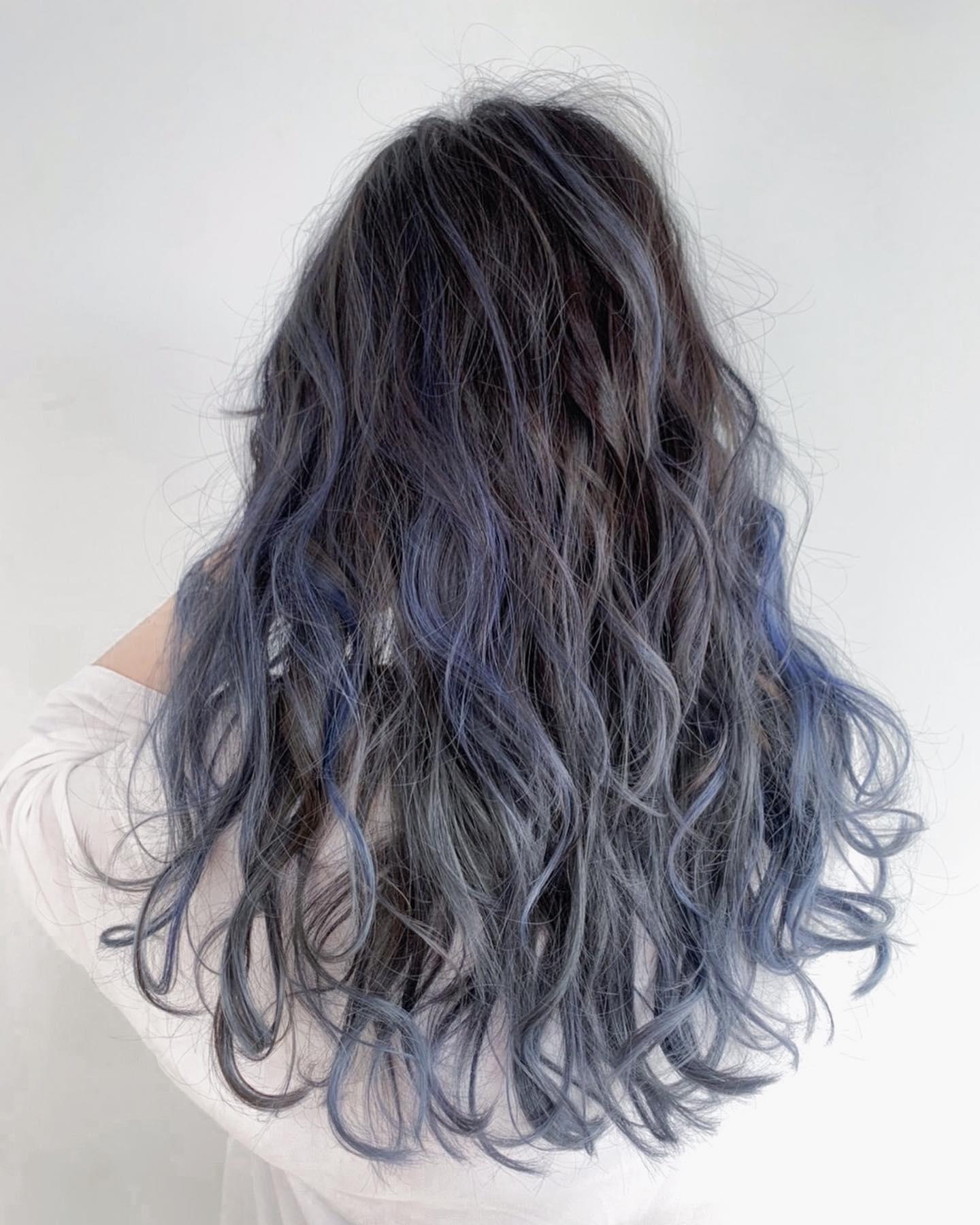 歐美挑染髮色2