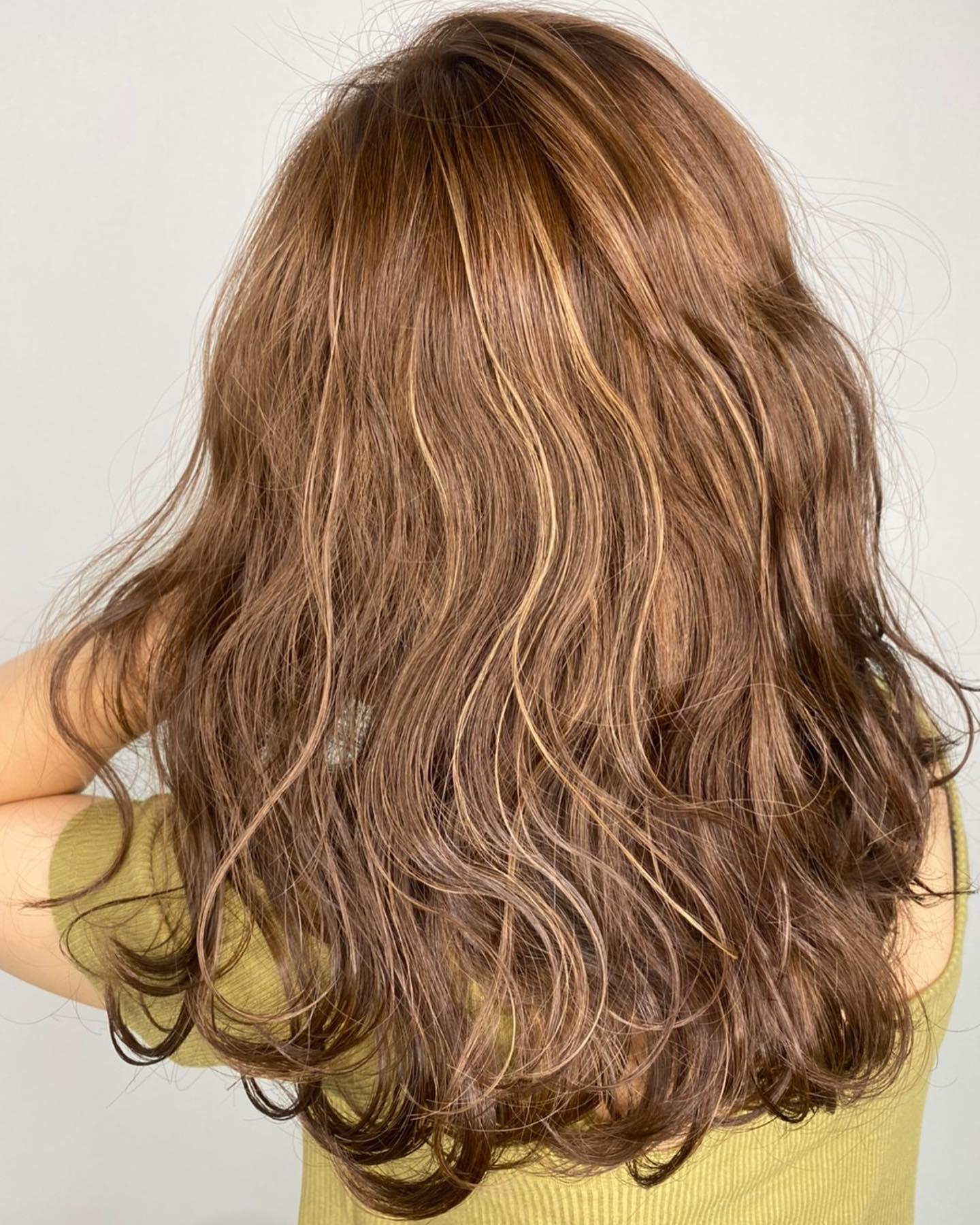 歐美挑染髮色3