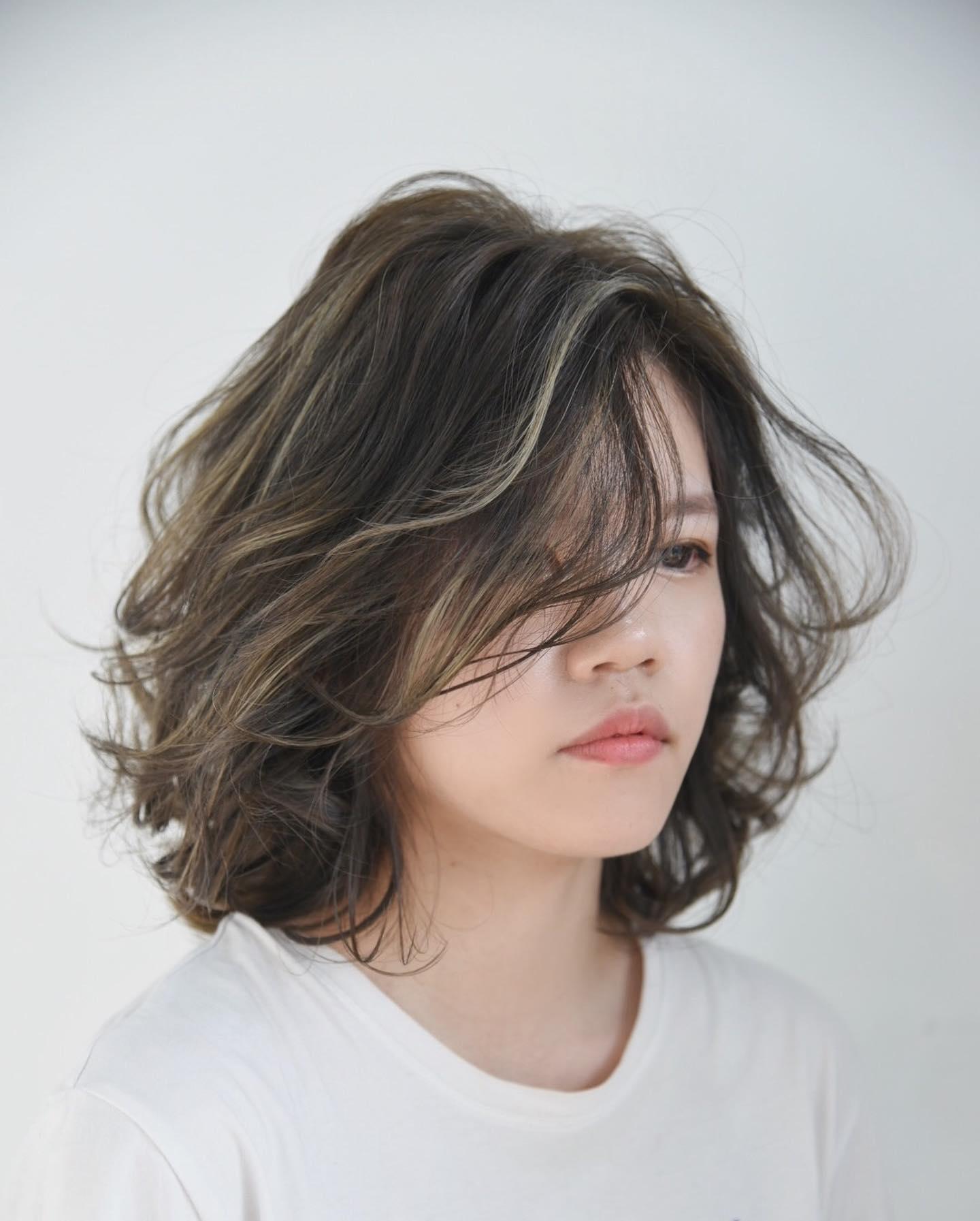 歐美挑染髮色6
