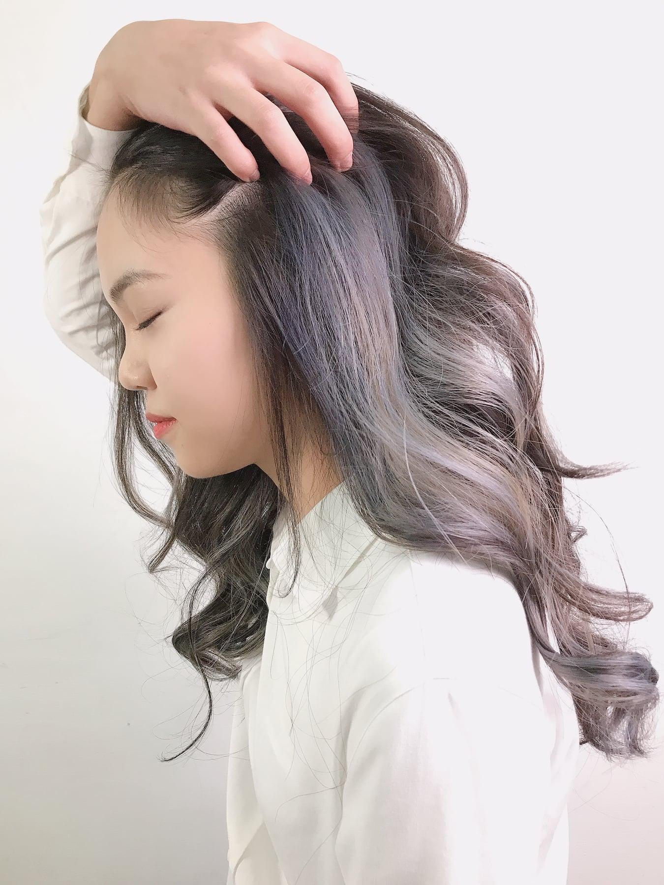 歐美挑染髮色7