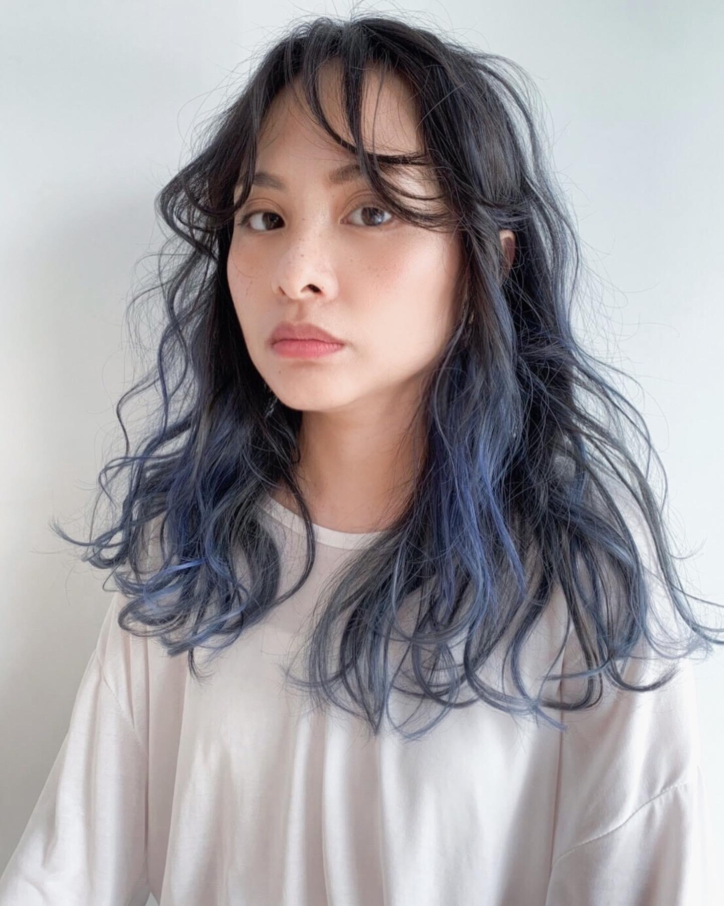 歐美挑染髮色8